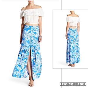NWOT Free People Smooth Sail Maxi Skirt